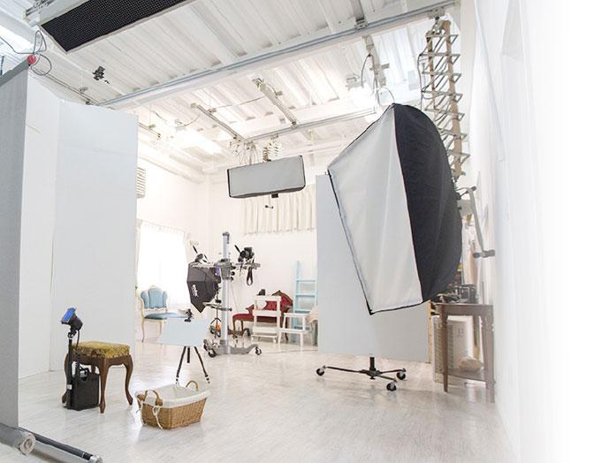 撮影スタジオのご紹介