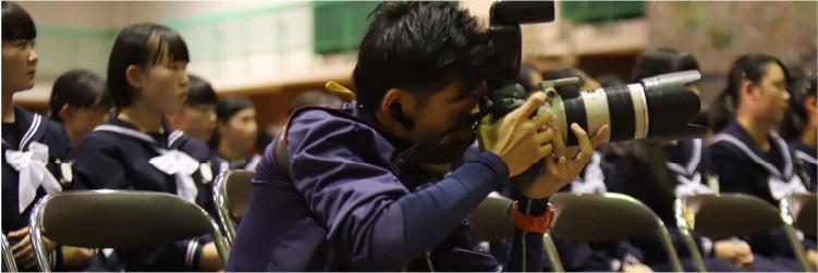新城の名物カメラマン